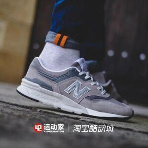 new balance 997 white silver