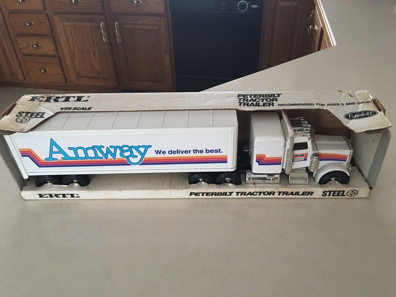 Ertl Amway Semi Tractor Trailer 1 25