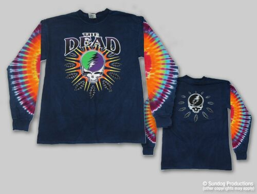 """The Dead /""""Steal Your Lightning/"""" Double Sided  Long Sleeve T-Shirt FREE SHIPPING"""