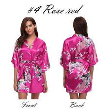 item 5 UK Silk Satin Kimono Robe Dressing Gown Wedding Bridesmaid Sleepwear  Bathrobe -UK Silk Satin Kimono Robe Dressing Gown Wedding Bridesmaid  Sleepwear ... 104b76581