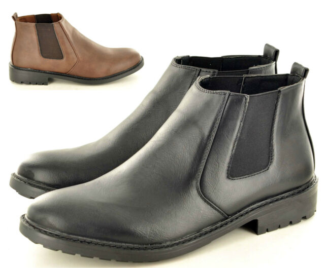 New Men's Dealer Ankle Chukka Desert Casual Boots Shoes In UK Size 6 7 8 9 10 11