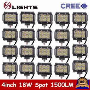 20pcs-4-034-18W-CREE-LED-Work-Light-Bar-Spot-Off-Road-4WD-Fog-ATV-SUV-Driving-Lamp