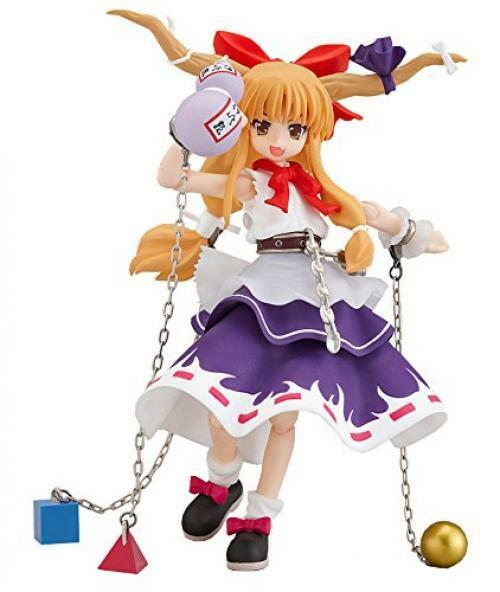 New figma Suika Ibuki 104 Cirno Project PVC Action Figure Max Factory Japan F S