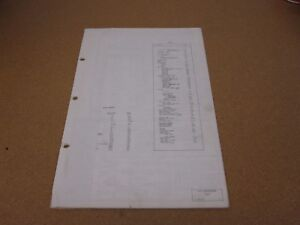 1972 ford thunderbird wiring diagram sheet schematics service manual rh ebay co uk