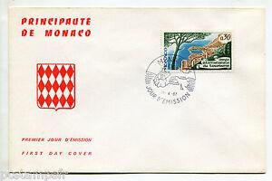 MONACO-FDC-premier-jour-ANNEE-DU-TOURISME-timbre-723-28-4-1967