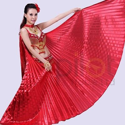 Belly Dance Egyptian Egypt  Dancing Costume Isis Wings Dance Wear Wing 10 ColorS