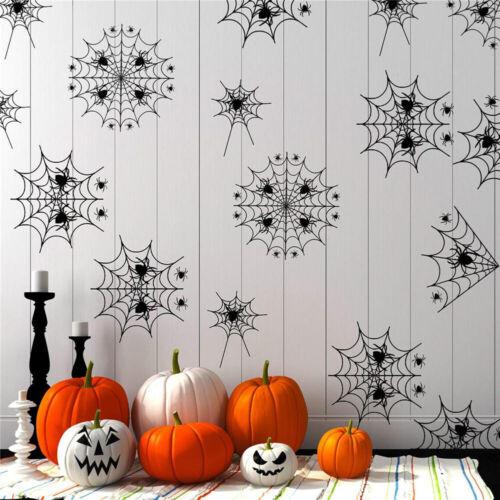 Halloween Simulation Spinnennetz Sticker Horror Fenster Dekoration