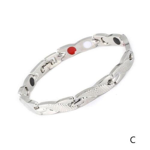 Einfach Edelstahl Silber Hand Kette Armband Schmuck Geschenk 7mm