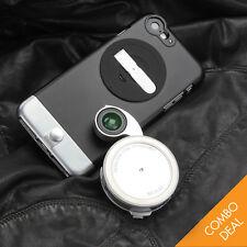 ZTYLUS ZIP-6P Camera Kit iPhone 6 Plus (Metal finish) Case & RV-2 Lens Combo BK
