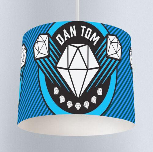 Clock - Kids Boys Bedroom DAN TDM Canvas Prints Lampshade 080 Lamp