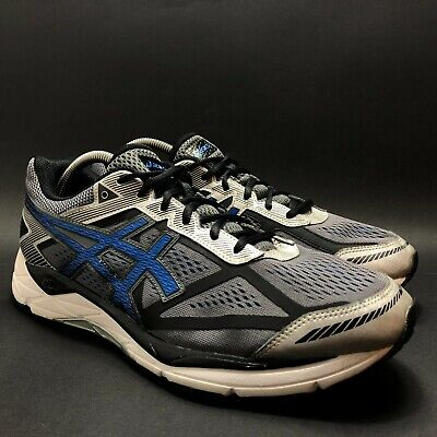 Asics Gel-Venture 5 Mens Gray Blue Athletic Running Shoes Size 10 T5H1N | eBay