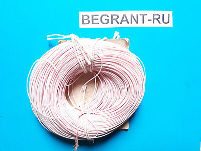 0.03mm2 32AWG ex-USSR Copper Teflon PTFE Wire MGTF QTY=20m ~66ft