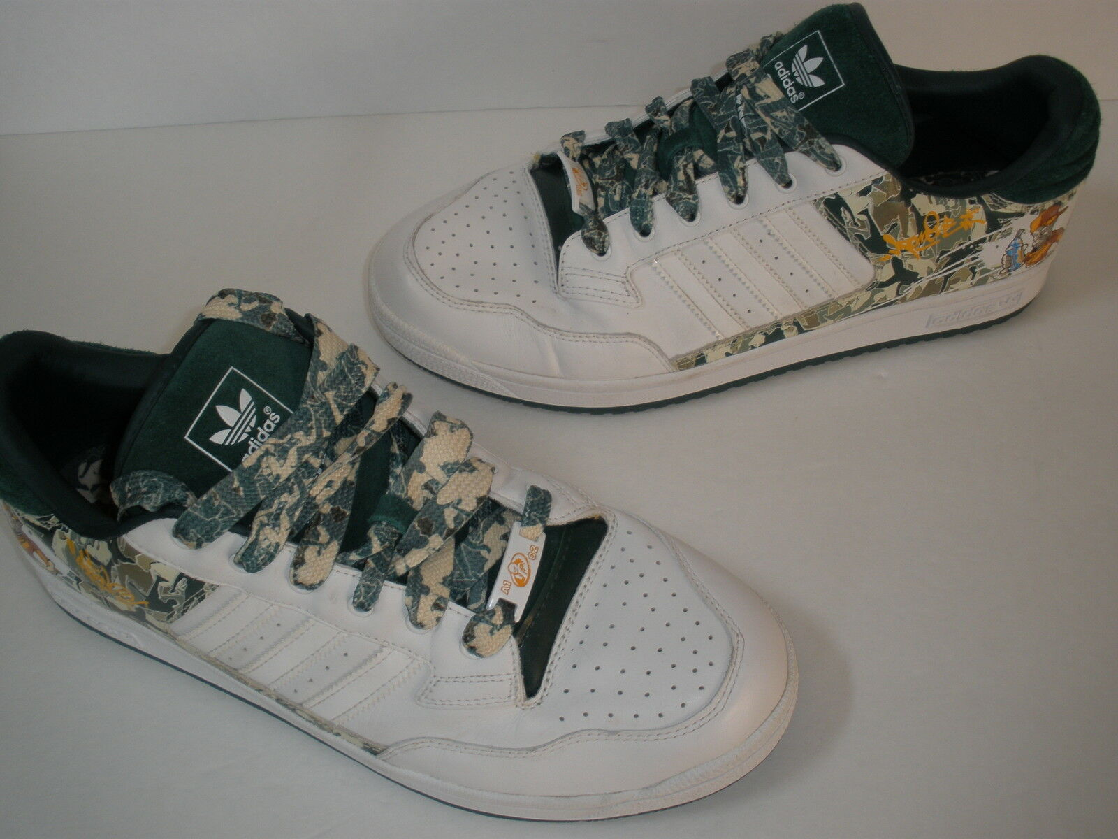 @ ADIDAS CENTENNIAL  END TO END GRAFFITI Scarpe US 14 EUR 49  RARE HOT VINTAGE