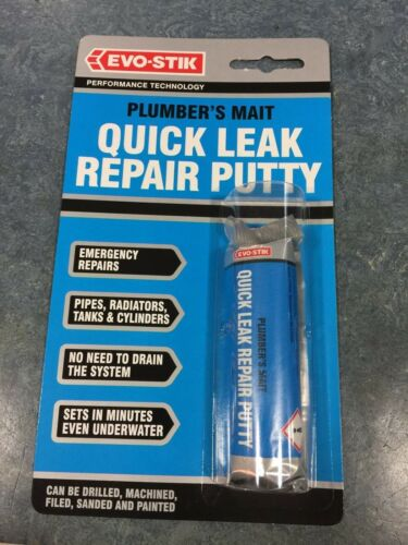 EVO-STICK PLUMBERS MAIT QUICK LEAK REPAIR PUTTY 50G
