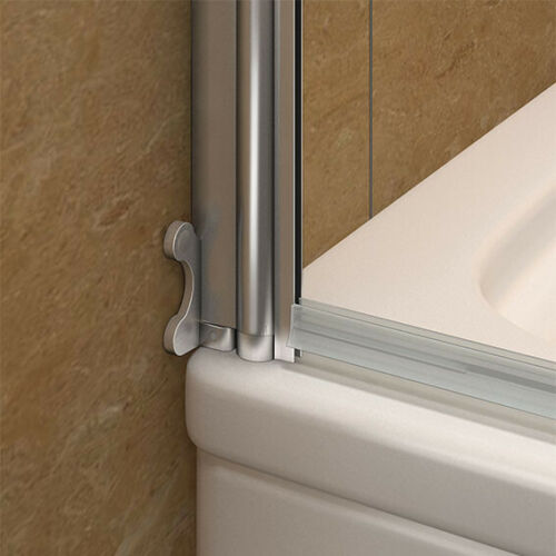 180° Pivot 800x1400mm Over Bath Shower Screen Door Panel 6mm Glass