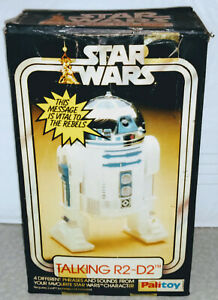 WORKING-Palitoy-Star-Wars-1977-TALKING-R2-D2-Battery-Operated-Tested-UK-039-s-Kenner