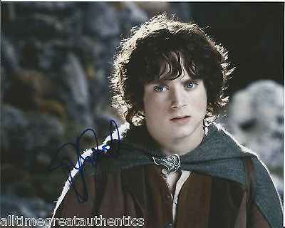 Search For Flights Elijah Wood Hand Signed Authentic 'lord Of The Rings' Frodo 8x10 Photo B W/coa Movies