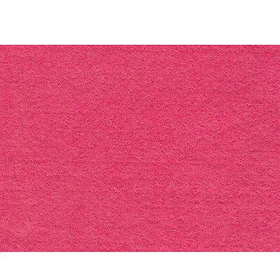 Cerise Pink CRAFT FELT FABRIC per 1m METRE Material 150cm Wide Acrylic FF12