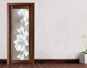 Porta interna in legno noce americano wendy completa di for Porta interna bianca con vetro
