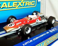 SCALEXTRIC C3311 LOTUS 49 COSWORTH GOLD LEAF JIM CLARK   BRAND NEW 1/32 SLOT CAR