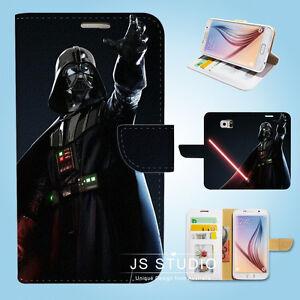 Samsung-Galaxy-S3-4-5-6-7-8-Edge-Plus-Note-Wallet-Case-Cover-Star-Wars-W05