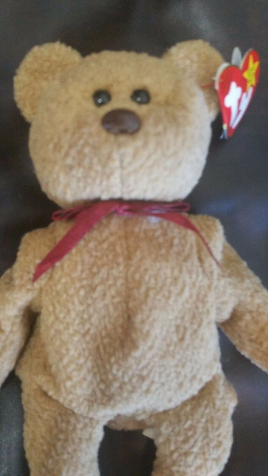 Curly Beanie Baby 1993 Tush Tag 1996 swing tag Other Errors