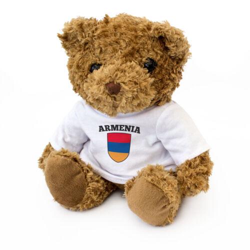 Cute And Cuddly NEW Armenian Fan Gift Present Armenia Flag Teddy Bear