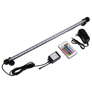 Led Lamps Hight Quality Led Aquarium Fish Tank Submersible Light With 24 Keys Remote Control High Penetration Good Security Waterproof