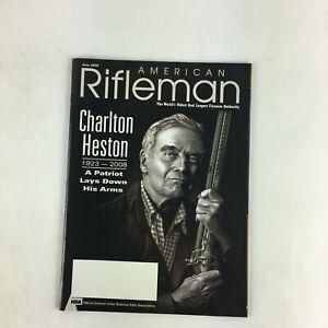 June2008-American-Rifleman-Magazine-Charlton-Heston-A-Patriot-Lays-Down-His-Arms