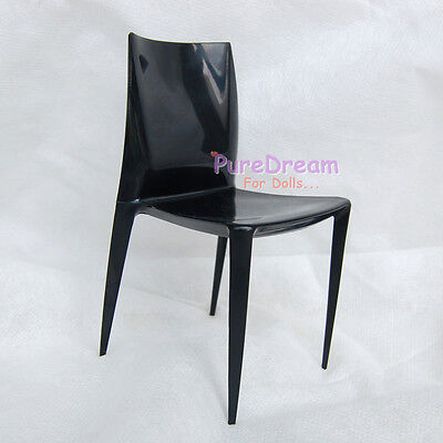 1//6 Scale Furniture Plastic Dark Smoky Armchair SL020C
