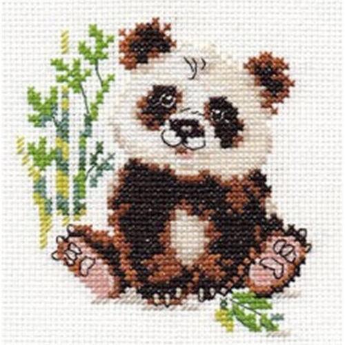 Alisa Cross Stitch Kit-Panda