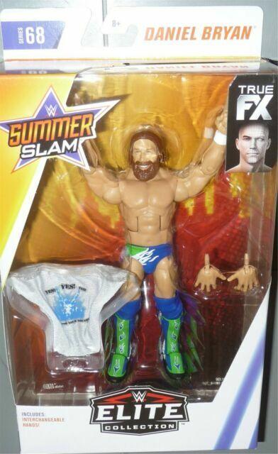DANIEL BRYAN WWE Mattel Elite Series 68 SummerSlam Wrestling Toy Figure DMG PKG