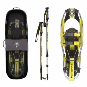 Yukon-Charlie-039-s-Sherpa-Series-Snowshoe-8-x-21-Inches-Yellow-Black-80-5005K