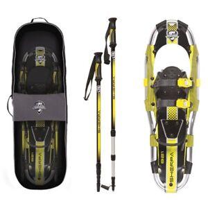 Yukon-Charlie-039-s-Sherpa-Series-Snowshoe-8-x-21-Inches-Yellow-Black-80-5005K
