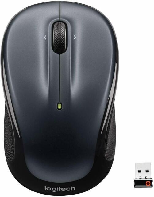 Récepteur Logitech Wireless Mouse M325 UNIFYING DARK Argent