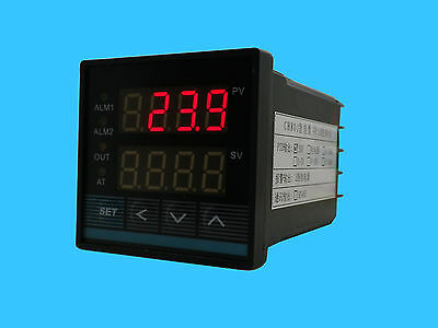 New Universal Digital PID Temperature Controller with SSR Output and 2 Alarms