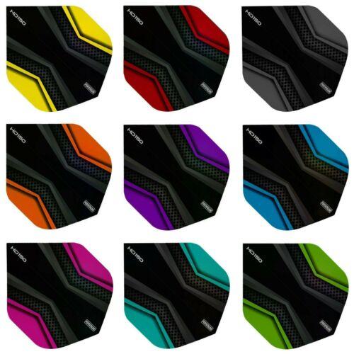 18,27 Pentathlon HD 150 X Black Ultra Power Longlife Dart Flights 6,9 Sets Flys