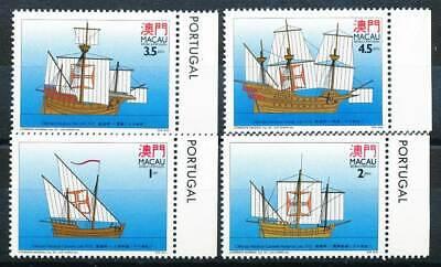 Asien Macau Nr.739-742** Schiffe 271793