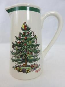 Details About Spode Christmas Tree Holiday Milk Pitcher Vase 7