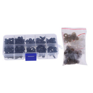 130-Pcs-Black-Plastic-Safety-Noses-for-Teddy-Bear-Animals-Doll-Making-DIY