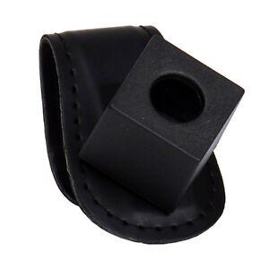 Leather-Magnetic-Chalk-Holder-with-Belt-Clip-Black-Chalk-Holder-FREE-SHIP