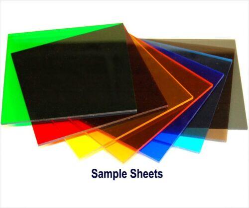 "5 12/""x12/""x1//8/"" Colored Acrylic Sheets Plastic Plexiglass Craft Save buy 5 USA"