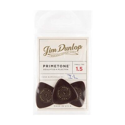 Smooth 3 Pack Dunlop 24513150003 Primetone Triangle 1.5mm Sculpted Plectra