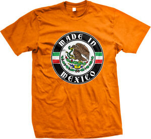 1adfa23dc Made In Mexico Born From Crest Shield Mexican Flag Colors MEX MX ...