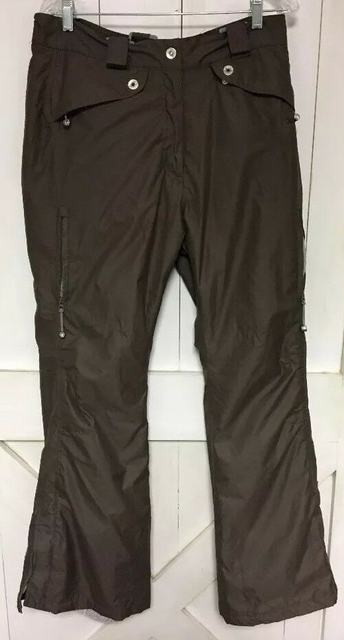 Women's Medium Trespass Snow Pants Sports With Straps. Polyester.  H