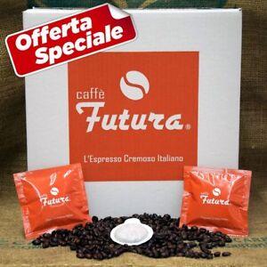 150 Cialde ese filtro carta Caffè Futura Espresso Napoletano