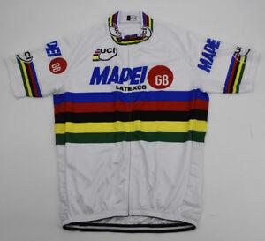 CAPRI SONNE Cycling Jersey Retro Road Pro Clothing MTB Short Sleeve