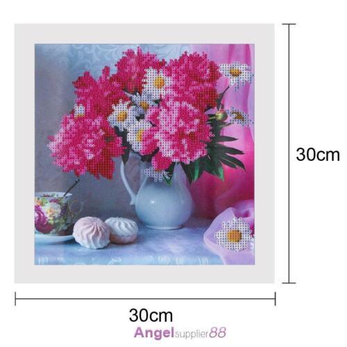 Flower Animals DIY 5D Diamond Embroidery Painting Cross Stitch Home Decor A