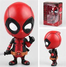 Neu Comic The Avengers Marvel X-Man Deadpool 10cm PVC Action Figur Figuren