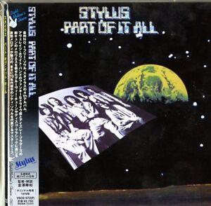 STYLUS-PART-OF-IT-ALL-JAPAN-MINI-LP-CD-F83